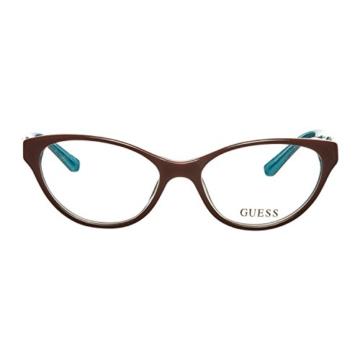 Guess Brille GU 2351 BRN 53 Brillengestell Glasses Frame Damen UVP 148EUR - 2