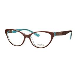 Guess Brille GU 2351 BRN 53 Brillengestell Glasses Frame Damen UVP 148EUR - 1