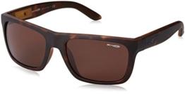 Herren Sonnenbrille Arnette Dropout Fuzzy Havana/Gloss Black - 1