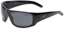 Herren Sonnenbrille Arnette La Pistola Gloss Black - 1