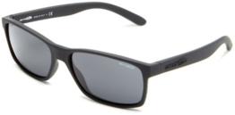 Herren Sonnenbrille Arnette Slickster Fuzzy Black - 1