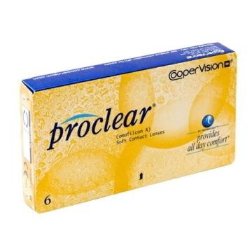 Proclear Sphere / Compatibles Monatslinsen, 6er Packung Kontaktlinsen, Stärke frei wählbar (BC-Wert 8,60 / Dia: 14.2 mm) - 1