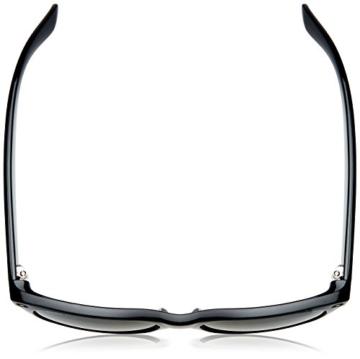 Ray Ban Unisex Sonnenbrille New Wayfarer, Gr. Large (Herstellergröße: 55), Schwarz (schwarz 901/58) - 4