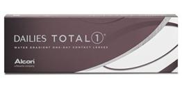 Dailies Total 1 Tageslinsen weich, 30 Stück / BC 8,5 mm / DIA 14,1 mm / -1,25 Dioptrien - 1
