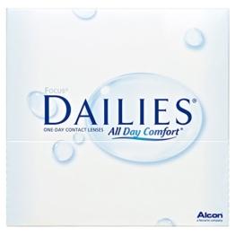 Focus Dailies All Day Comfort Tageslinsen weich, 90 Stück / BC 8.6 mm / DIA 13.8 mm / -2,50 Dioptrien - 1