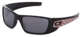 Oakley Damen Sonnebrille Einheitsgröße schwarz - Polished Black/Black Iridium - 1
