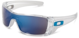 Oakley Herren Batwolf Rechteckig Sonnenbrille, CLEAR/ICE IRIDIUM/Ice Iridium - 1