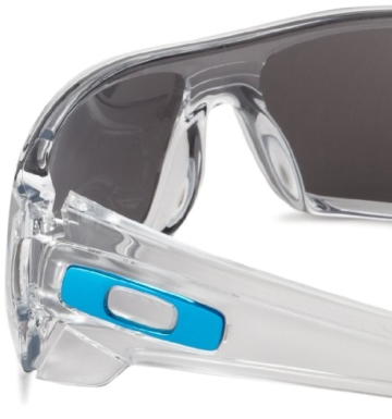 Oakley Herren Batwolf Rechteckig Sonnenbrille, CLEAR/ICE IRIDIUM/Ice Iridium - 4
