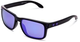 Oakley Holbrook 9102-26 matte black / violet iridium - 1