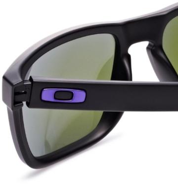 Oakley Holbrook 9102-26 matte black / violet iridium - 4