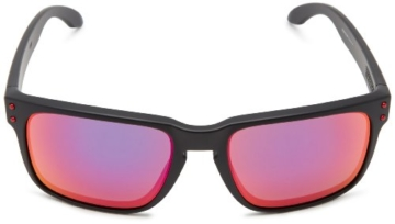 Oakley Holbrook 9102-36 Matte Black / Positiv Red Iridium - 2