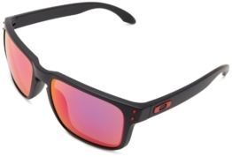 Oakley Holbrook 9102-36 Matte Black / Positiv Red Iridium - 1