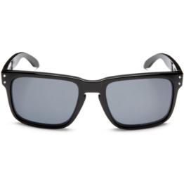 Oakley Sonnenbrille Holbrook, Polished Black/Grey Polarized, One size, OO9102-02 - 1