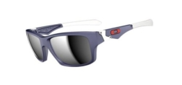 Oakley Sonnenbrille Jupiter Squared Matte Navy with Chrome Iridium, One size, OO9135-02 - 1