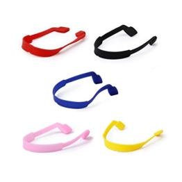 5 x Kinder Brillengläser Strap Silikon Dehnbar Sport Band Schnur Halter - 1