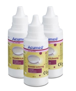Acumed 3212 Kombi-Lösung Pocket 3er Set, 150 ml - 1