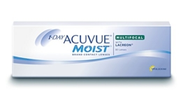 Acuvue 1-Day Moist Multifocal Tageslinsen weich, 30 Stück / BC 8.4 mm / DIA 14.30 / ADD LOW / -1.5 Dioptrien - 1