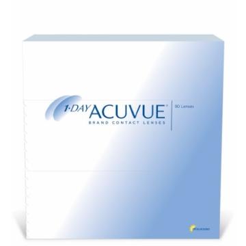 Acuvue 1-Day Tageslinsen weich, 90 Stück / BC 8.5 mm / DIA 14.2 / -3,75 Dioptrien - 1