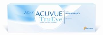 Acuvue 1-Day TruEye Tageslinsen weich, 30 Stück / BC 8.5 mm / DIA 14.2 / -1.00 Dioptrien - 1