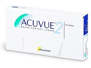 Acuvue 2-Wochenlinsen weich, 6 Stück / BC 8.7 mm / DIA 14.0 / -5,00 Dioptrien - 1