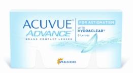Acuvue Advance for Astigmatism 2-Wochenlinsen weich, 6 Stück / BC 8.6 mm / DIA 14.5 / CYL -0.75 / Achse 70 / -5.00 Dioptrien - 1
