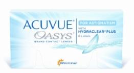 Acuvue Oasys for Astigmatism 2-Wochenlinsen weich, 6 Stück / BC 8.6 mm / DIA 14.5 / CYL -0.75 / Achse 50 / -0.75 Dioptrien - 1