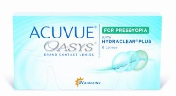 Acuvue Oasys for Presbyopia 2-Wochenlinsen weich, 6 Stück / BC 8.4 mm / DIA 14.3 / ADD MED / -4.50 Dioptrien - 1