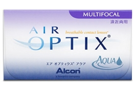 Air Optix Aqua Multifocal Monatslinsen weich, 6 Stück / BC 8.6 mm / DIA 14.2 / ADD HI / -2,75 Dioptrien - 1