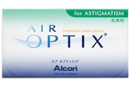 Air Optix for Astigmatism Torische Monatslinsen weich, 6 Stück / BC 8.7 mm / DIA 14.5 / CYL -0,75 / ACHSE 180 / -2,00 Dioptrien - 1