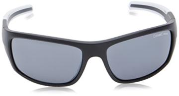 ALPINA Sportbrille Testido, Black Matt-White, One Size, A8514.3.31 - 2