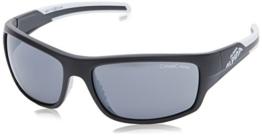 ALPINA Sportbrille Testido, Black Matt-White, One Size, A8514.3.31 - 1