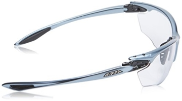 ALPINA Sportbrille Twist Four VL+, Tin-Black, One Size, A8434.1.25 - 3