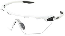 Alpina Sportbrille Twist Four Shield VL+, white-black, One Size, A8454.1.10 - 1