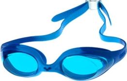 arena Kinder Schwimmbrille Spider, Blue, One Size, 92338 - 1