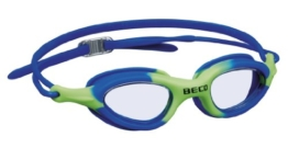 Beco Kinderschwimmbrille Biarritz Schwimmbrille (blau/grün) - 1