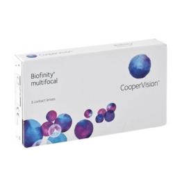 Biofinity Multifocal - D-Profil, 3er Monatslinsen weich, 3 Stück / BC 8.60 mm / DIA 14.00 / ADD MED 1.5 / -6.50 Dioptrien - 1