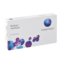 Biofinity Multifocal - N-Profil Monatslinsen weich, 6 Stück / BC 8.60 mm / DIA 14.00 / ADD LOW / -2.25 Dioptrien - 1