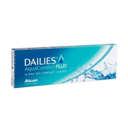 Dailies Aquacomfort Plus, 10er Plus Tageslinsen weich, 10 Stück / BC 8.70 mm / DIA 14.00 mm / -0.75 Dioptrien - 1