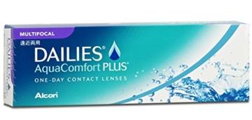 Dailies AquaComfort Plus Multifocal Tageslinsen weich, 30 Stück / BC 8.7 mm / DIA 14 / ADD LOW / -1.5 Dioptrien - 2