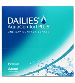 Dailies AquaComfort Plus Tageslinsen weich, 90 Stück / BC 8.7mm / DIA 14.0 / -3,00 Dioptrien - 1