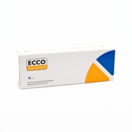 ECCO change One Day UV Tageslinsen weich, 30 Stück / BC 8.60 mm / DIA 14.20 mm / -2.75 Dioptrien - 1