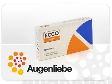 ECCO Easy T, torische Monatslinsen weich, 6 Stück / BC 8.70 mm / DIA 14.4 / CYL -0.75 / ACHSE 180 / -2.75 Dioptrien - 1