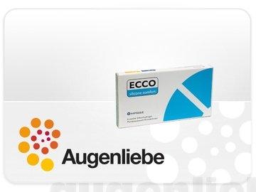 ECCO Silicone Comfort Monatslinsen weich, 6 Stück / BC 8.60 mm / DIA 14.20 mm / +1 Dioptrien - 1