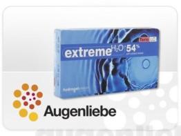 Extreme H2O 54% Toric Monatslinsen weich, 6 Stück / BC 8.60 mm / DIA 14.2 / CYL -0.75 / ACHSE 180 / 0.00 Dioptrien - 1
