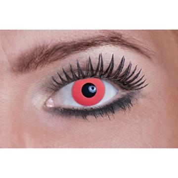Eyecatcher Color Fun UV, Farbige Kontaktlinsen, flash pink, Leuchten im Schwarzlicht, 1er Pack (1 x 2 Stück) - 2