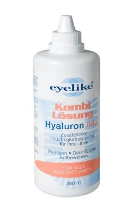 Eyelike Kombilösung  Hyaluron 360 ml - 1