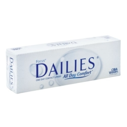 Focus Dailies All Day Comfort Tageslinsen weich, 30 Stück / BC 8.6 mm / DIA 13.8 mm / -6.5 Dioptrien - 1