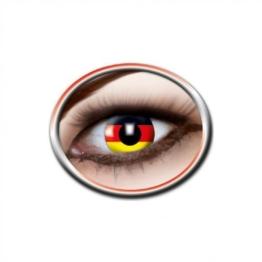 Motivlinse Deutschland Flagge, Kontaktlinsen - 1