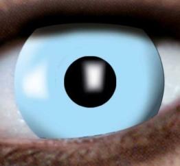 Nerd Clear® Kontaktlinsen 2 Stück ,,ICE BLAU,, - 1