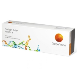 Proclear 1day Multifocal Tageslinsen weich, 30 Stück / BC 8.70 mm / DIA 14.20 / ADD MED / -4.75 Dioptrien - 1